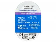 SofLens Daily Disposable (30lenti) - Blister della lente