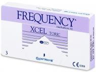 Lenti a contatto per astigmatismo - FREQUENCY XCEL TORIC XR (3lenti)