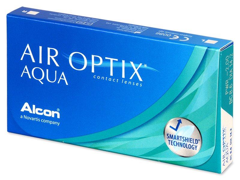 Air Optix Aqua (6lenti) - Lenti a contatto mensili