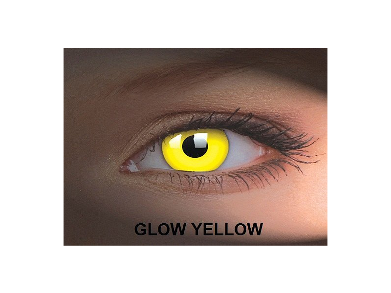 Crazy GLOW (2 lenti) - Glow Yellow