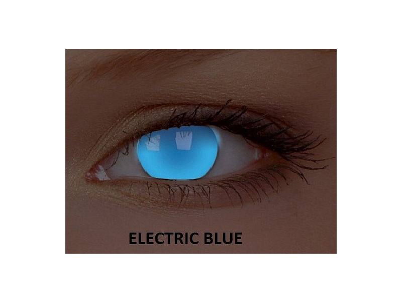 Crazy GLOW (2 lenti) - Electric Blue