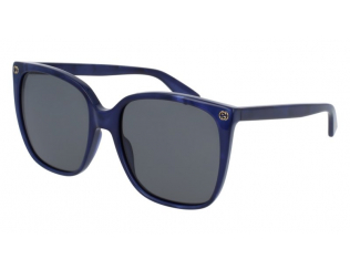 Occhiali da sole Oversize - Gucci GG0022S-005