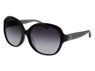 Occhiali da sole Oversize - Gucci GG0080SK-002