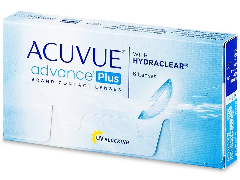Acuvue Advance PLUS (6 lenti) - Lenti a contatto quindicinali