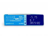 Acuvue Advance PLUS (6lenti) - Caratteristiche generali