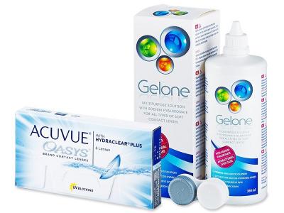 Acuvue Oasys (6lenti) + soluzione Gelone 360 ml