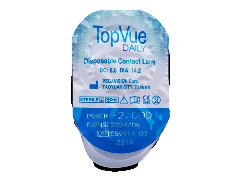 TopVue Daily (30lenti) - Blister della lente