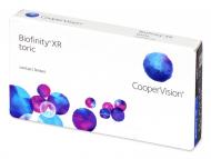 Lenti a contatto per astigmatismo - Biofinity XR Toric (3 lenti)