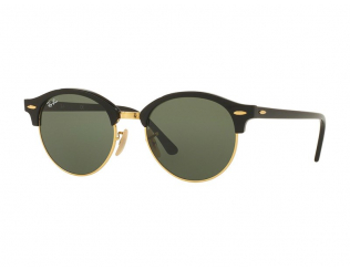 Occhiali da sole Browline - Ray-Ban Clubround RB4246 - 901