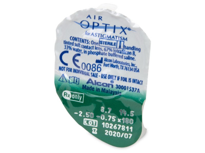 Air Optix for Astigmatism (6 lenti)