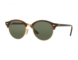 Occhiali da sole Browline - Ray-Ban Clubround RB4246 - 990